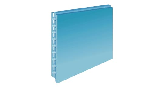 Gips-Wandbauplatte TYP H2 CAVITY